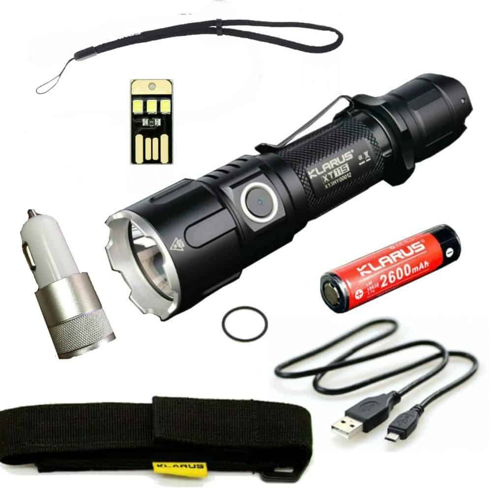 KLARUS XT11S - best 18650 flashlight